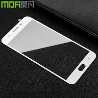 Oppo F3 PLUS full screen anti gores kaca layar hp TEMPERED GLASS WARNA