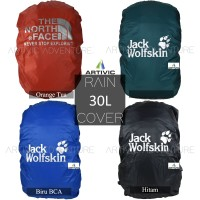 Jual Rain Cover Tas / Cover Bag Daypack JWS /TNF 30L - 35L Murah Murah