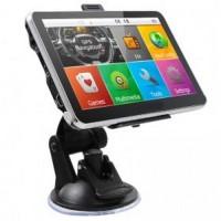 Sistem Navigasi GPS Mobil Layar 5 Inch Black