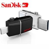 Jual Sandisk Flashdisk OTG Ultra Dual USB Drive 3.0 32GB Original Murah