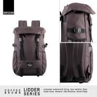 Jual Tas Ransel Daypack Backpack Rayleigh Lidder Coffee Brown Murah
