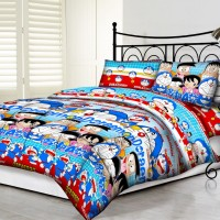 Tommony Bed Cover Single - Doraemon