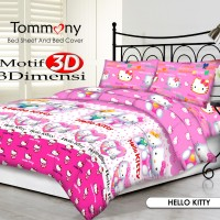 Tommony Bed Cover Single - Hello Kitty