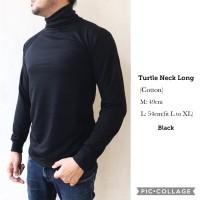 Jual kaos turtle neck turtleneck pria panjang long Murah