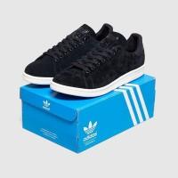 Sepatu Sneakers Adidas Originals Stan Smith Core Black White