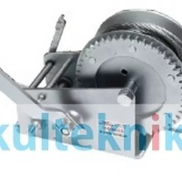 Hand Winch Single Gear With Wire Rope -WIPRO