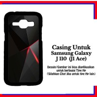 Casing Samsung J1 Ace black iphone 6 Custom Hardcase