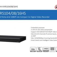 DVR / XVR DAHUA 8 CHANNEL XVR5108HS / XVR-5108HS ORIGINAL