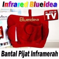hot deal Bantal Pijat Shiatsu Blueidea Blue idea Infrared Punggung