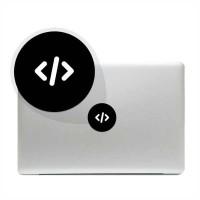 Tokomonster Decal Sticker programmer icon Macbook Pro & Air