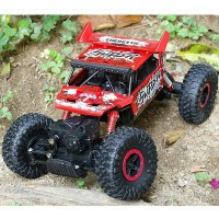 RC ROCK CRAWLER OFFROAD 4WD 2.4ghz SCALE 1.18 MOBIL REMOTE LINTAS ALAM