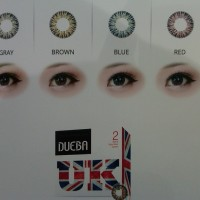 Softlens Warna Tahunan Silicone Hydrogel Dueba UK