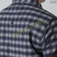 LIMITED EDITION  kemeja flanel pria tangan pendek / flannel cowok