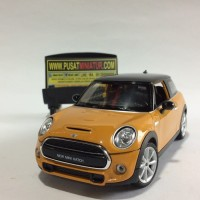 NEW MINI HATCH - SKALA 1:24 - WELLY (DIECAST-MINIATUR)