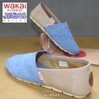 Jual Sepatu WAKAI - denim/jeans - unisex Murah