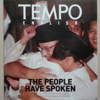 Majalah Tempo English Cover Anies - Sandi. New Boss at City Hall