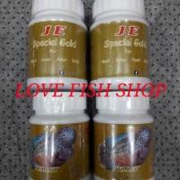 Makanan Ikan Louhan Pellet Je Spesial Gold