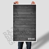 Jual ALAS FOTO BLACK WOOD 50 cm x 100 cm  (Hi-Res) Murah