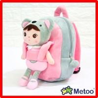 Jual Tas Sekolah Anak Boneka Karakter Angela Panda Lepas 25 cm Murah