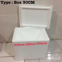 Styrofoam Box/Stereofoam box 30CM/box es krim