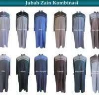Jual Jubah/Gamis Pria Zain/Jubah TERMURAH Model Kombinasi/GRATI PECI RAJUT Murah