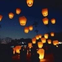 Jual lampu lampion terbang sky lantern barang unik china reseller dropship  Murah