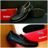 sepatu kickers sepatu casual Sepatu pria sepatu kerja sepatu kulit