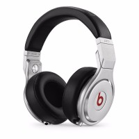 Beats Pro by Dr Dre Headphones Black Silver