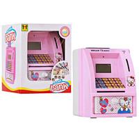 Jual Paling Laris Mainan Edukatif Celengan ATM Mini Hello Kitty Bahasa Indo Murah