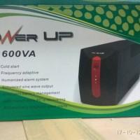 ups power up 600 va +stabilizer