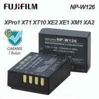 Baterai / Battery Fujifilm NP-W126 for XPro1 XT1 XT10 XE2 XE1 XM1 XA