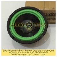 harga Subwoofer 6 Inch Revox Double Voice Coil/subwoofer Revox 6