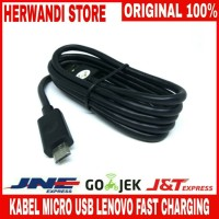 Jual KABEL MICRO USB LENOVO VIBE Z Z2 X3 ORIGINAL 100 % FAST CHARGING Murah