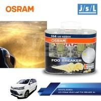 Toyota Avanza LED Osram Lampu Depan (Head Lamp) Fog Breaker H4