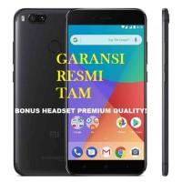 XIaomi Mi A1 BLACK Android One Google - 4/64GB - Garansi Resmi TAM