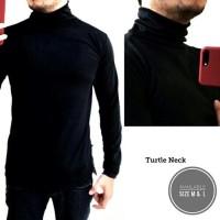 harga Turtle Neck Baju Kaos Pria Sweater Distro Keren Tokopedia.com