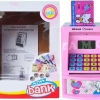 Jual CELENGAN ATM HELLOKITTY WITH MONEY - MAINAN EDUKASI ANAK Murah