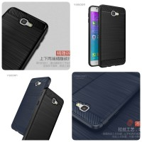 Shockproof Carbon Fiber Soft tpu Samsung Galaxy S6 edge
