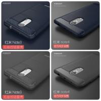 Shockproof Carbon Fiber Soft tpu For Xiaomi Redmi Note 4