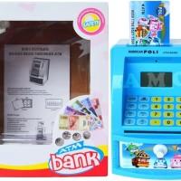 Jual CELENGAN ATM ROBOCAR POLI HELI WITH MONEY Murah