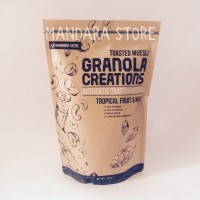 Jual Granola Creations 480 gr Tropical Fruit and Nuts (Toasted Muesli) Murah