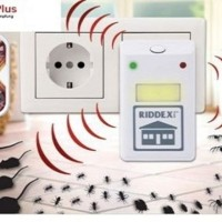 Jual Riddex Plus Pengusir Nyamuk Kecoak Tikus Ultrasonic Repellent AS SEEN Murah