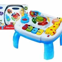 Mainan Edukasi Anak Bayi Toys Baby Learning Table Piano Jerapah Girafe