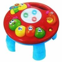 Mainan Edukasi Anak Bayi Toys Baby Learning Table Caterpillar Piano