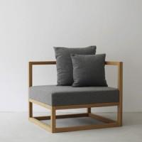 CUBIX SERIES - Kursi Tamu Sofa Modern Minimalis (AC) - XIONCO