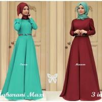 Baju Muslim Wanita Maxi Pashmina Syari Hijab Maxi Maharani