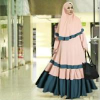 Baju Muslim Wanita Maxi Pashmina Syari Syari Royal Muslimah
