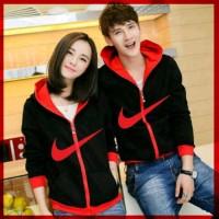 Baju Pakaian Sepasang Kembar Murah  [Cp Jkt Nike CL] jaket couple