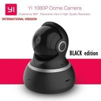 Jual Xiaomi Yi Dome 1080P Smart IP Camera International Version - Hitam Murah