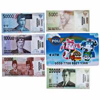 Jual Harga Grosir CELENGAN ATM ROBOCAR POLI HELI WITH MONEY Murah